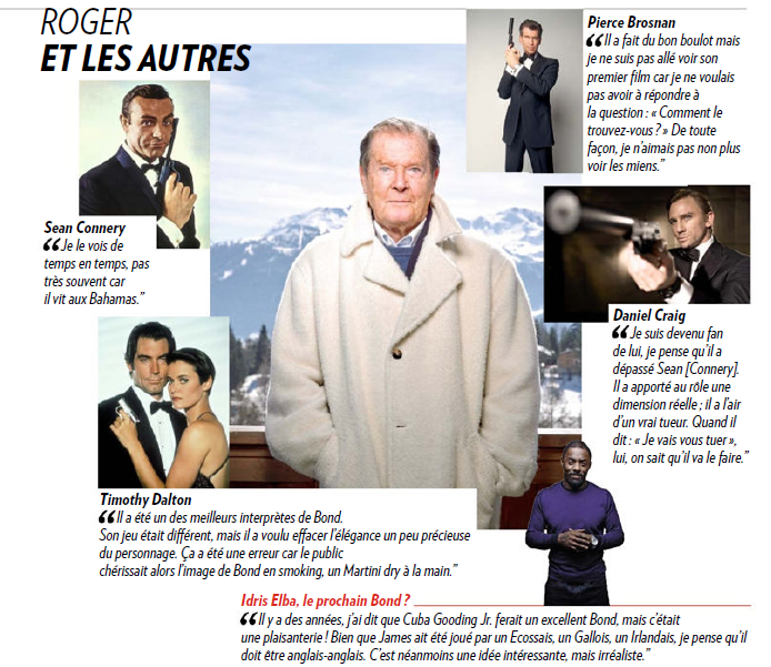 Page 11 of Paris Match Magazine issue 3436 from March 27, 2015