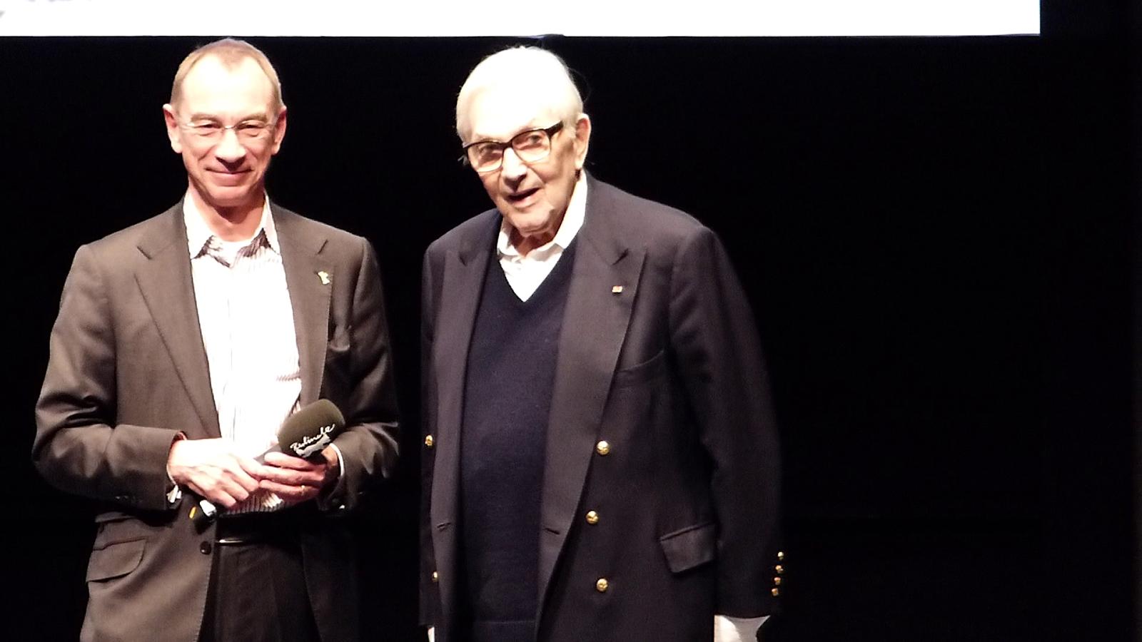 Dr. Rainer Rother & Sir Ken Adam / Photo: Benjamin Lind