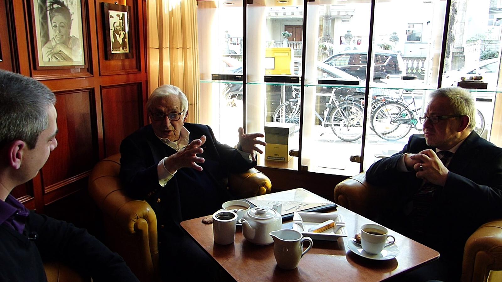 In conversation with Sir Ken / Photo: Benjamin Lind