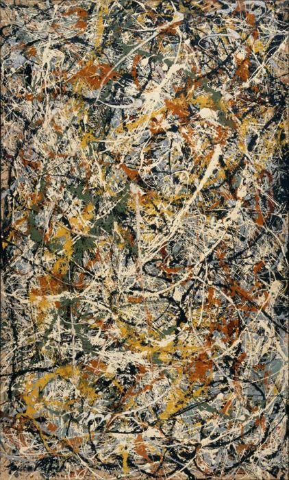 "Jackson Pollock's ""Number III Tiger - 1949"""